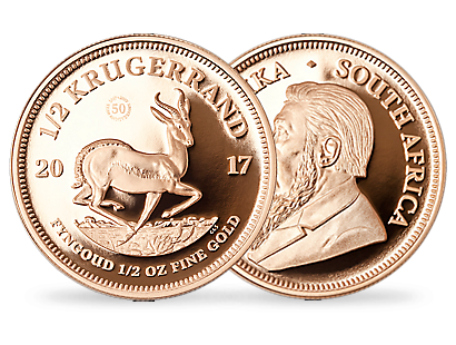 Krugerrand 2017 1/2 oz Gold Commemorative Coin