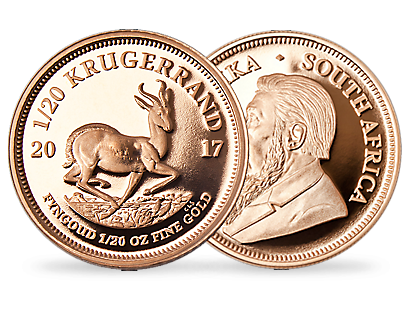 Krugerrand 2017 1/20 oz Gold Commemorative Coin