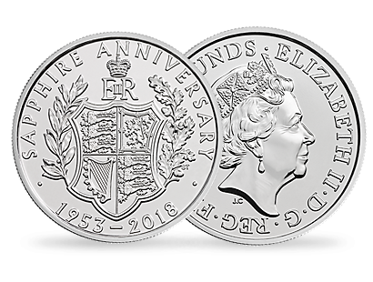 The 65th Anniversary of The Coronation of Her Majesty The Queen 2018 £5 Brilliant Uncirculated Coin