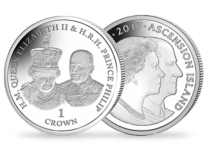 70 Years of the Queen & Prince Philip - State Opening of Parliament Sterling Silver Proof Coin