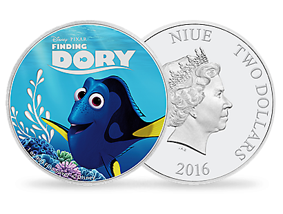 Disney Pixar Finding Dory Coin Set