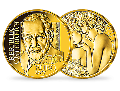 50-Euro-Goldmünze 2017 ''Sigmund Freud''