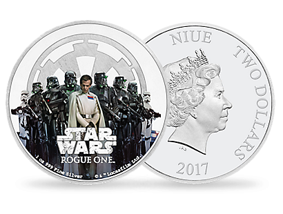 Star Wars: Rogue One – The Empire 1oz Silver Coin