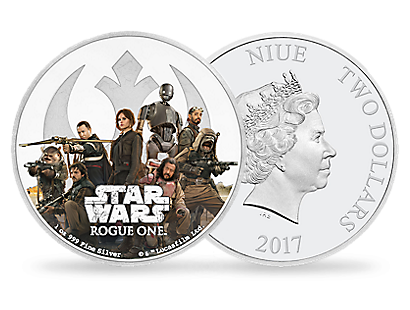 Star Wars: Rogue One - Rebellion 1 oz Silver Coin