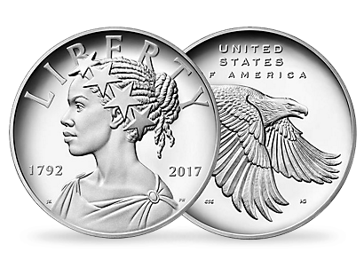 American Liberty 225th Anniversary Silver Commemorative Coin