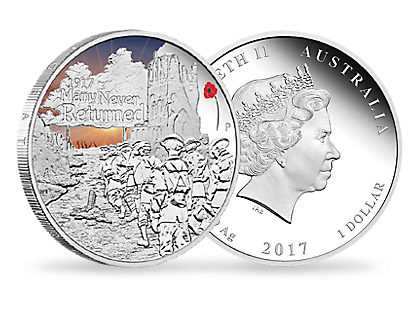 The Anzac Spirit 100th Anniversary Coin Series 2017 1oz Silver proof Coin