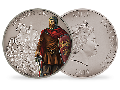 Battles That Changed History - The Battle of Hastings 1oz Silver Coin
