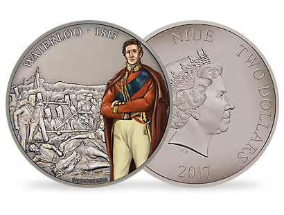 Battles That Changed History - The Battle of Waterloo 2017 1oz Silver Coin
