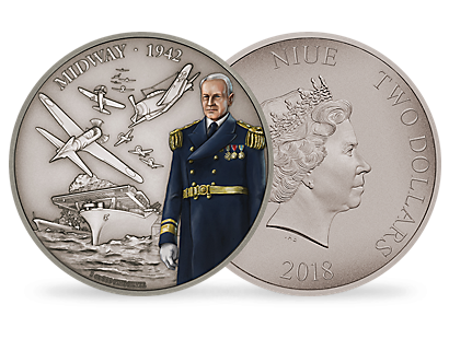Battles That Changed History - The Battle of Midway 2018 1oz Silver Coin