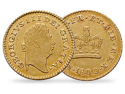 King George III Third Guinea Gold Coin