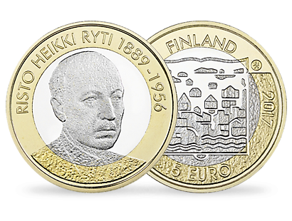 Presidents of Finland – Risto Ryti Silver Proof Coin