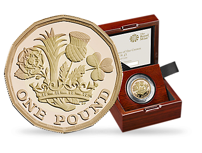 Nations of the Crown 2017 United Kingdom Gold Proof £1 Coin