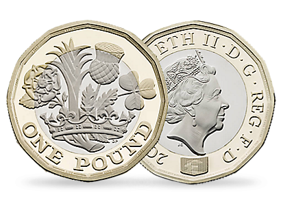 Nations of the Crown 2017 £1 Brilliant Uncirculated Coin