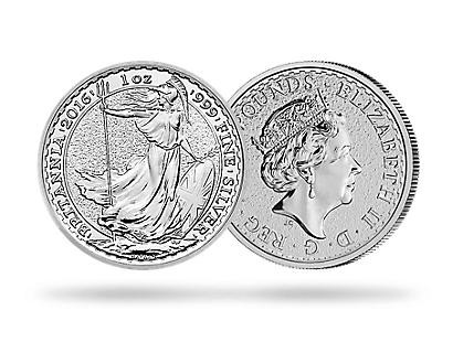 Britannia 2016 1 oz Silver Bullion Coin