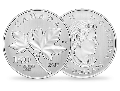 Canada Maple Leaves 2017 1/2 oz Silver Coin
