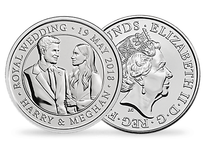 The Royal Wedding 2018 £5 Brilliant Uncirculated Coin