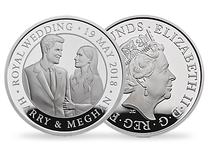 The Royal Wedding 2018 £5 Silver Proof Coin