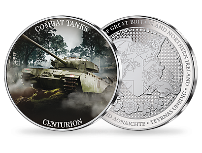Combat Tanks Silver Plated Commemorative Collection