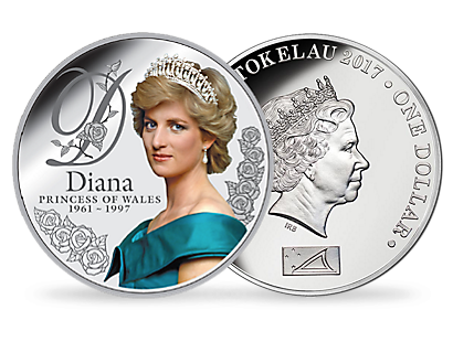 Diana Princess of Wales $1 Silver Proof Coin