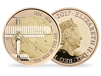 The First World War Aviation 2017 £2 Gold Proof Coin