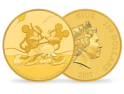 Mickey Through the Ages – 'The Gallopin' Gaucho' 1 oz Gold Coin