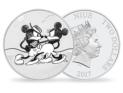 Mickey Through the Ages – 'The Gallopin' Gaucho' 1 oz Silver Coin