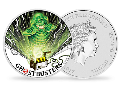 Ghostbusters - Slimer 2017 1 oz Silver Coin