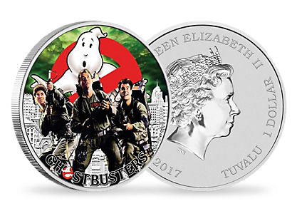 Ghostbusters Crew 2017 1oz Silver Coin