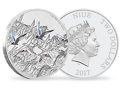 Great Migrations - Arctic Tern 1oz Silver Coin