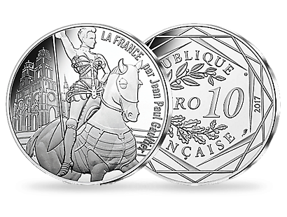 Jean Paul Gaultier 2017 - Orleans the Victorious €10 Coin