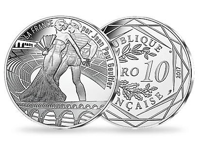 Jean Paul Gaultier 2017 - The Enchanting Languedoc €10 Coin