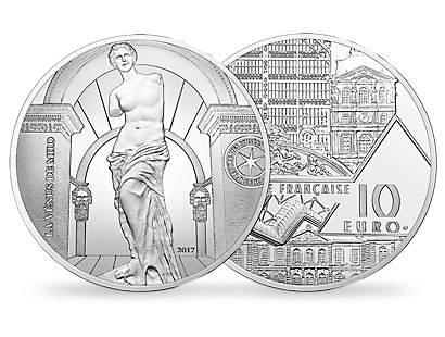 Masterpieces of the Museum - Venus De Milo €10 Silver Proof Coin