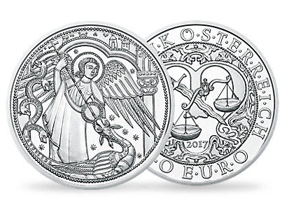 Guardian Angel Michael €10 Silver Coin