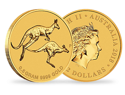 Mini Roo 2018 0.5g Gold Coin