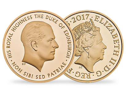 Prince Philip: Celebrating a Life of Service 2017 £5 Gold Proof Coin