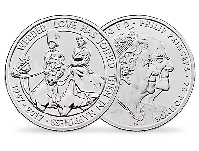 'The Longest Reigning Monarch' £20 Half-Ounce Fine Silver Coin