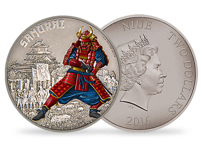 Warriors of History – Samurai 1 oz Silver Coin