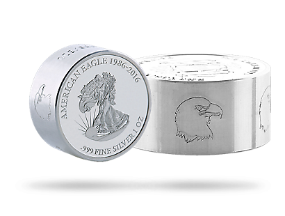 Walking Liberty Smick Ounce Silver Coin - Gabon 2016
