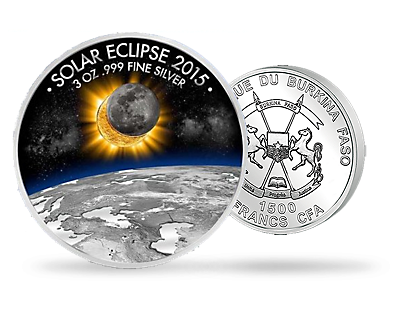 'Total Solar Eclipse' Silver Commemorative Coin