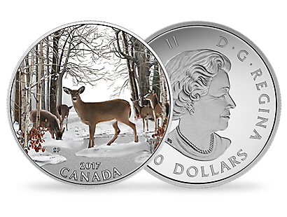 Spring Sightings 2017 $10 Fine Silver Coin