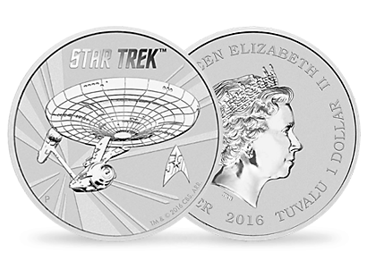 Star Trek 2016 1oz Silver Coin