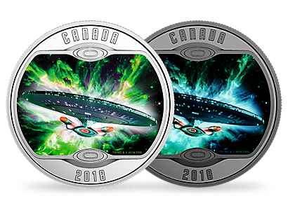 Star Trek: The Next Generation 2018 $10 Fine Silver Coin