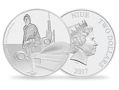 Star Wars Classic – Luke Skywalker 1oz Silver Coin