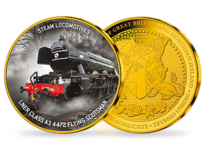 Steam Locomotives - Gold Plated Commemorative Collection