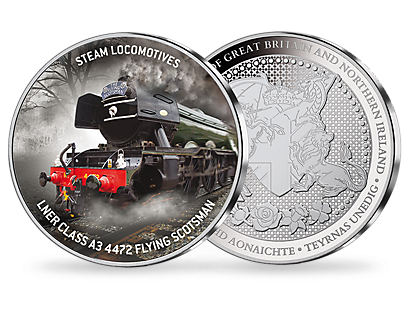 Steam Locomotives - Silver Plated Commemorative Collection