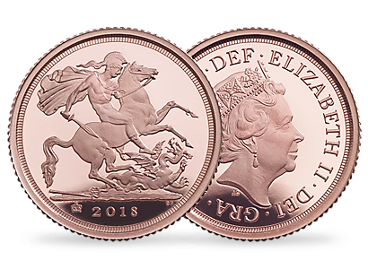 The Royal Mint 2018 Gold Sovereigns