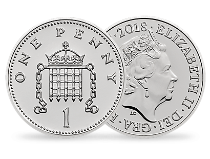 The Royal Birth 2018 Brilliant Uncirculated Silver Penny