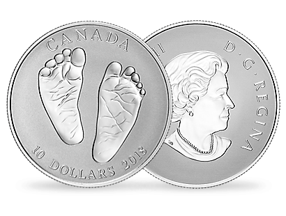 2018 Baby Gift - Welcome to the World $10 1oz Silver Coin