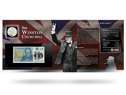 Winston Churchill Coin & Bank Note Memorial Collection
