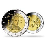 Bild: 2 € Belgique 2009 Louis Braille
